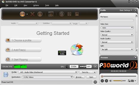 دانلود ImTOO DVD to AVI Converter 7.0.1 – نرم افزار تبدیل فیلم های DVD به فرمت های ویدئویی