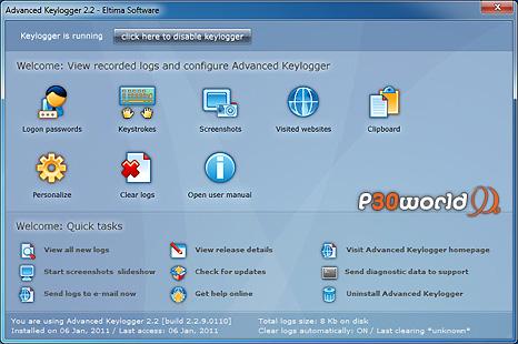 دانلود Eltima Advanced Keylogger 2.2.9.110 – ردیابی و تهیه گزارش از فعالیت کاربران در کامپیوتر و اینترنت
