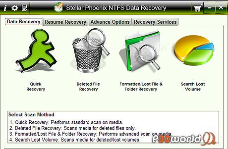 دانلود Stellar Phoenix NTFS Data Recovery 4.1 – نرم افزار بازیابی اطلاعات از درایوهای NTFS