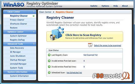 دانلود WinASO Registry Optimizer 4.7.6 – نرم افزار بهینه سازی رجیستری ویندوز