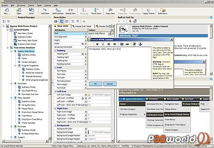 دانلود MP Software Agama Web Menus 2.20 – نرم افزار طراحی و ساخت منوهای DHTML