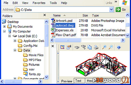 دانلود GetData Explorer View 4.4.2.1134 – نرم افزار پیش نمایش فایل های مختلف