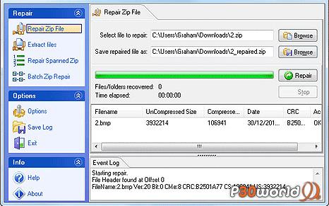 دانلود GetData Zip Repair Pro for Windows 5.1.0.1402 – نرم افزار تعمیر فایل های زیپ آسیب دیده و خراب