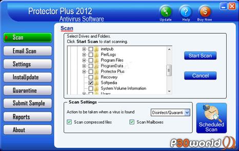 دانلود Protector Plus 2012 Antivirus 8.0.M01 – نرم افزار آنتی ویروس