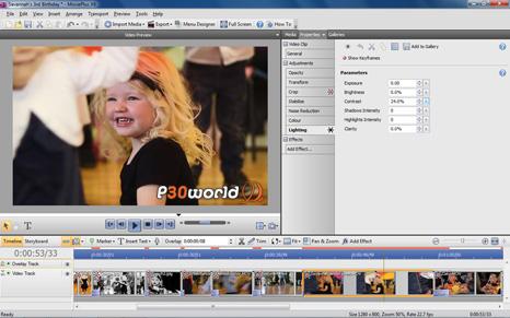 دانلود Serif MoviePlus X6 v8.0.0.14 – نرم افزار ویرایش حرفه ای فایل های ویدیویی