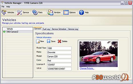 دانلود Vehicle Manager 2012 Professional Edition v2.0.1140.0 – نرم افزار مدیریت و ثبت سرویس های دوره ای اتومبیل