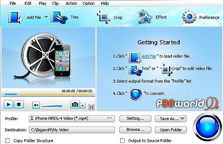 دانلود Bigasoft iPhone Video Converter 3.5.10.4312 – نرم افزار تبدیل فیلم جهت نمایش و اجرا در آیفون