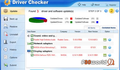 دانلود Driver Checker 2.7.5 نرم افزار آپدیت / نصب / مدیریت درایور های نصب شده در کامپیوتر شما