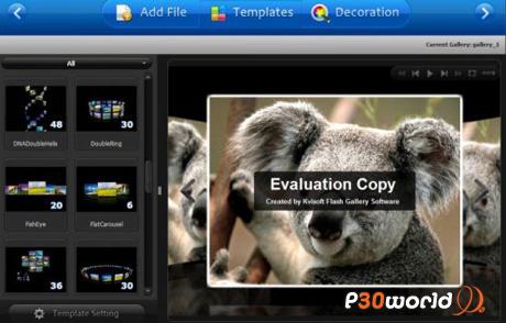 دانلود Kvisoft Flash Photo Gallery v1.5.3.0 – نرم افزار ساخت گالری تصاویر فلاش
