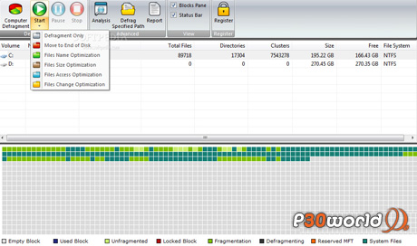 دانلود Smashing Defrag 5.4 نرم افزار تفرق زدایی پرتابل هارد دیسک