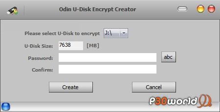 دانلود Odin U Disk Encrypt Creator نرم افزار رمزگذاری روی فلاش دیسک و هارد دیسک های شما