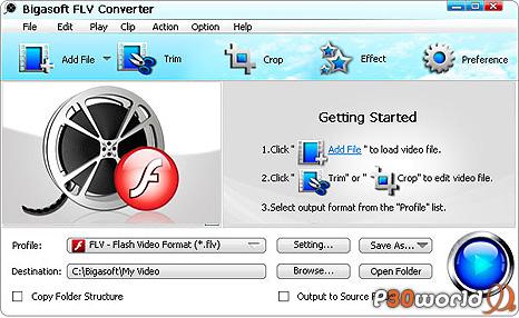 Bigasoft FLV Converter