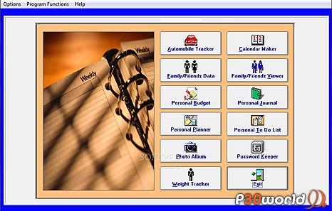 دانلود Personal Organizer v6.5 – نرم افزار مدیریت برنامه ها و کارهای شخصی