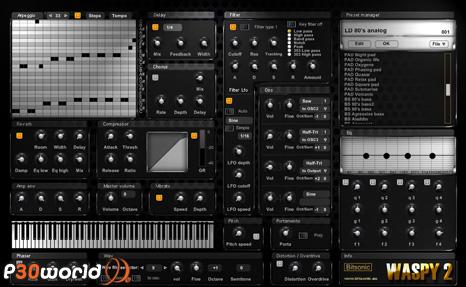 دانلود Bitsonic Waspy 2 Bundle v2.6 – شبیه ساز سینتی سایزر برای ساخت موزیک