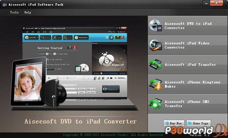 دانلود Aiseesoft iPad Software Pack 6.2.32 – نرم افزار مدیریت انواع دستگاه های iPad و  iPhone