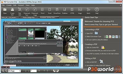 دانلود PDF Converter Elite 3.0.9.26 – نرم افزار ساخت ، ویرایش و تبدیل فایل های PDF