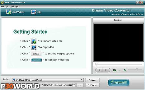 دانلود Dream Video Converter Ultimate 4.5.8.0 – نرم افزار تبدیل فرمت ویدیو