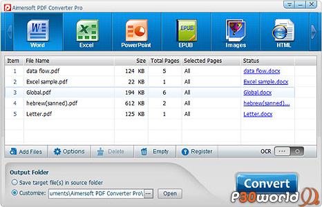 Aimersoft PDF Converter Pro