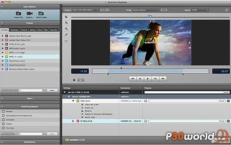 دانلود Sorenson Squeeze Pro v8.5.0.41 – نرم افزار تبدیل فرمت فایل های ویدیویی