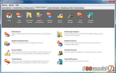 دانلود TweakNow PowerPack 2012 4.1.8 – نرم افزار بهینه سازی رجیستری