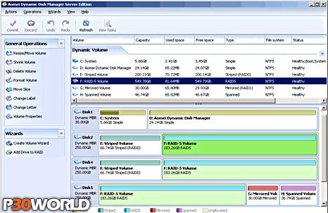 دانلود AOMEI Dynamic Disk Manager Pro 1.0.0.0 – نرم افزار مدیریت دیسک های دینامیک