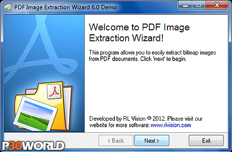 Image Extraction Wizard