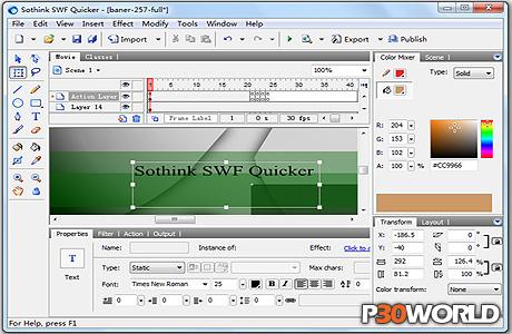 دانلود Sothink SWF Quicker 5.5.40821 – نرم افزار ویرایش فایل های فلش