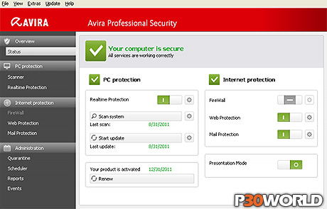 دانلود Avira Professional Security 2013 v13.0.0.2681 Final – بسته امنیتی قدرتمند شرکت آویرا