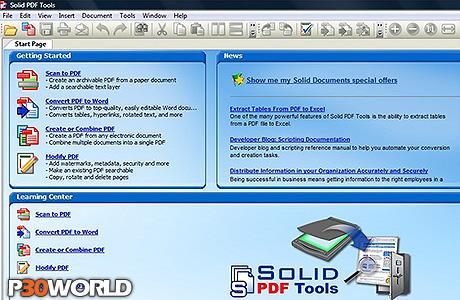 دانلود Solid Documents Solid PDF Tools 7.3 build 2024 Multilanguage – نرم افزار تبدیل و ساخت فایل های پی دی اف