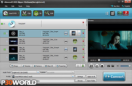 دانلود Aiseesoft DVD Ripper Platinum v6.3.20.12533 – نرم افزار تبدیل فرمت DVD