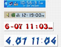 Chameleon Clock 5.1 یک ساعت دیجیتالی حرفه ای