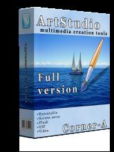 عکس های خود را توسط Corner-A Art Studio v1.2.1 زنده کنید