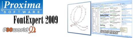 طراحی و ساخت انواع فونت و قلم برای ویندوز با FontExpert 2009