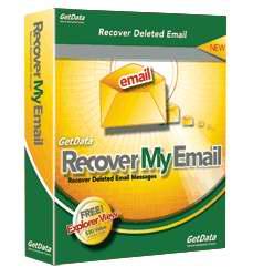 بازیابی ایمیل های پاک شده توسط GetData Recover My Email 4.6.5.5483
