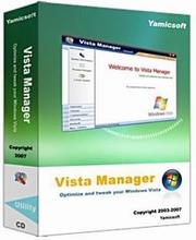 برای مدیریت و بهینه سازی بخش های مختلف ویندوز ویستا از Vista Manager 3.0.1 استفاده کنید