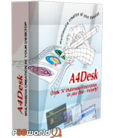 ساخت وب سایت های فلش توسط A4Desk Flash Website Builder v6.35