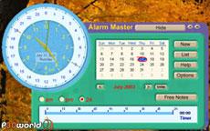 Alarm Master Plus v5.04.00 یک ساعت زنگ دار همه کاره