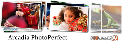 Arcadia PhotoPerfect v2.92.41نرم افزاری قدرتمند در زمینه ترکیب تصاویر با یکدیگر و ویرایش فایل های تصویری