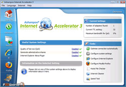 Ashampoo Internet Accelerator v3.10 شتاب دهنده مطمئن سرعت اتصال اینترنت