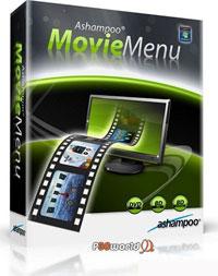 طراحی منوهای حرفه ای برای DVD ها توسط Ashampoo Movie Menu v1.0.0.37 Build 0071