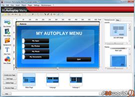 Ashampoo MyAutoplay Menu v1.0.3.94 ابزاری برای ساخت autorun های زیبا