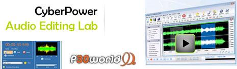 CyberPower Audio Editing Lab REPACK 14.0.1 یک استدیوی صوتی نرم افزاری کامل