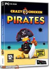 Crazy Chicken Pirates بازی کوچک و پر هیجان جوجه های دزد دریایی