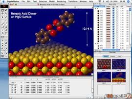 CrystalMaker v2.3.1 نرم افزار تخصصی شیمی و شبیه سازی ساختار مولوکولی