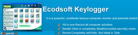 Ecodsoft Keylogger v2.1 – جاسوسی و زیر نظر گرفتن تمام فعالیت های سیستم توسط این Keylogger قدرتمند.
