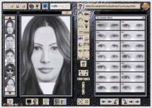 چهره نگاری حرفه ای و پلیسی توسط نرم افزار پلیس اف بی آی با نام FBI Faces 4.0