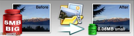فشرده سازی و کاهش حجم تصاویر با FileMinimizer Pictures v2.0