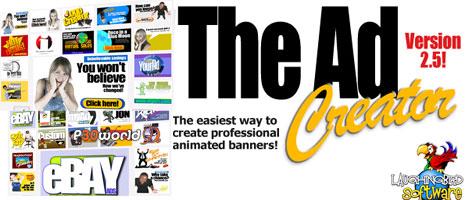 ساخت آسان تبلیغات حرفه ای و زیبای فلش توسط The Flash Ad Creator v2.5