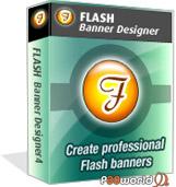 طراحی بنرهای حرفه ای فلش توسط Flash Banner Designer v5.0
