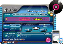Bigasoft iPhone Ringtone Maker v1.7.2.3686 – ساخت Ringtone های زیبا برای iPhone شما